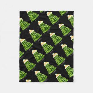 tony fernandes's lime jello rat fleece blanket