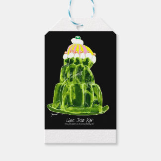 tony fernandes's lime jello rat gift tags