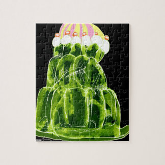 tony fernandes's lime jello rat jigsaw puzzle