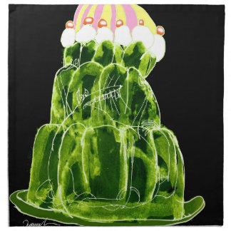 tony fernandes's lime jello rat napkin