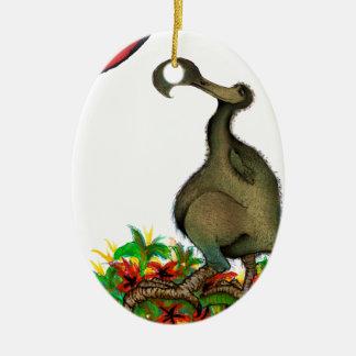 tony fernandes's love dodo ceramic oval decoration