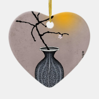 tony fernandes's moon and 1 plum blossom christmas ornament