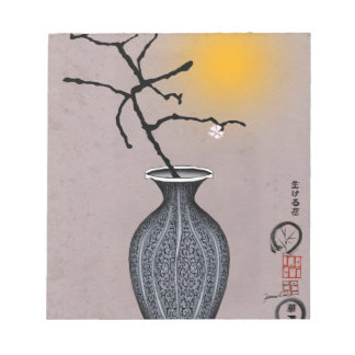 tony fernandes's moon and 1 plum blossom notepad