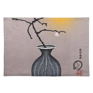 tony fernandes's moon and 1 plum blossom placemat