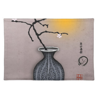 tony fernandes's moon and 4 plum blossom placemat