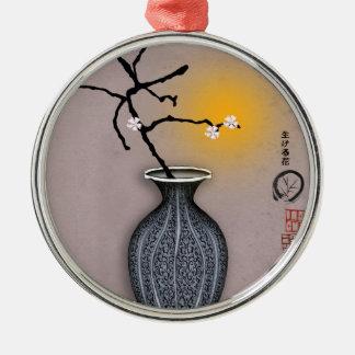 tony fernandes's moon and 6 plum blossom christmas ornament