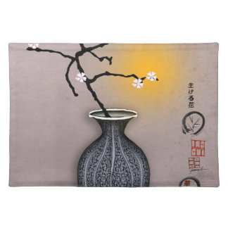 tony fernandes's moon and 6 plum blossom placemat