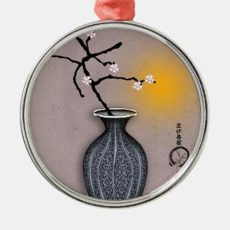 tony fernandes's moon and 8 plum blossom christmas ornament