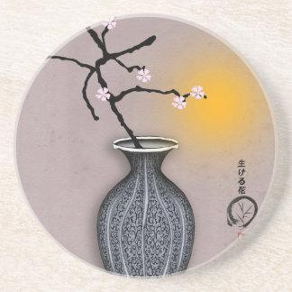 tony fernandes's moon and 8 plum blossom coaster