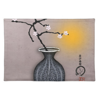tony fernandes's moon and 8 plum blossom placemat