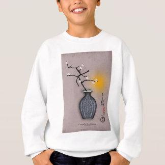 tony fernandes's moon and 8 plum blossom sweatshirt