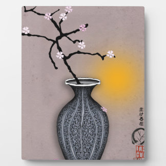tony fernandes's moon and 9 plum blossom plaque