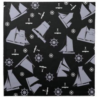 tony fernandes's nautical 1 napkin