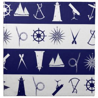tony fernandes's nautical 2a napkin