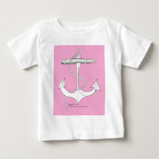 tony fernandes's new anchor pink baby T-Shirt