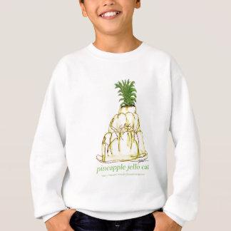 tony fernandes's pineapple jello cat sweatshirt