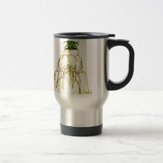 tony fernandes's pineapple jello cat travel mug