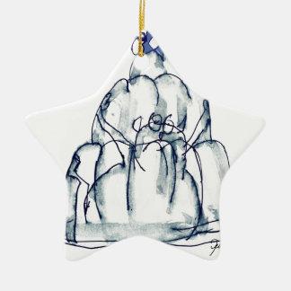 tony fernandes's prune jello cat ceramic star decoration