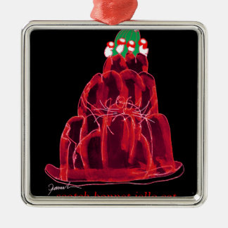 tony fernandes's scotch bonnet jello cat christmas ornament