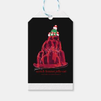 tony fernandes's scotch bonnet jello cat gift tags
