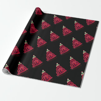 tony fernandes's scotch bonnet jello cat wrapping paper