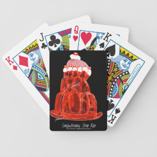 tony fernandes's strawberry jello rat bicycle playing cards