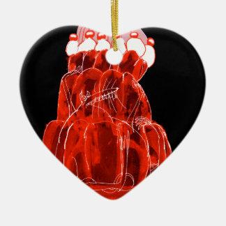 tony fernandes's strawberry jello rat christmas ornament