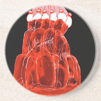 tony fernandes's strawberry jello rat coaster