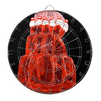 tony fernandes's strawberry jello rat dartboard