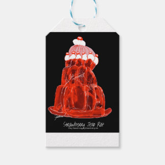 tony fernandes's strawberry jello rat gift tags