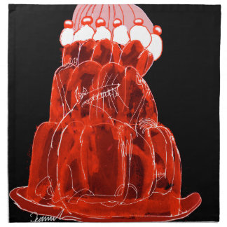 tony fernandes's strawberry jello rat napkin