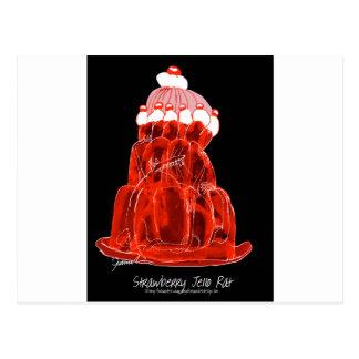 tony fernandes's strawberry jello rat postcard