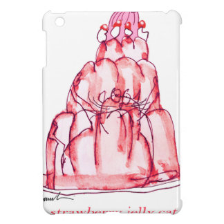 tony fernandes's strawberry jelly cat iPad mini case