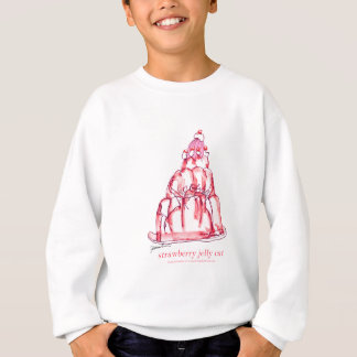 tony fernandes's strawberry jelly cat sweatshirt