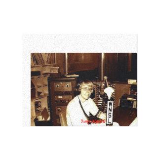 Tony Myrick Disc Jockey WNSL AM & FM Laurel, MS Stretched Canvas Print
