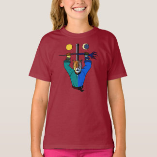 TONY THE TIME LORD GIRL'S T-SHIRT
