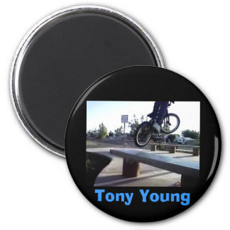 Tony Young 6 Cm Round Magnet