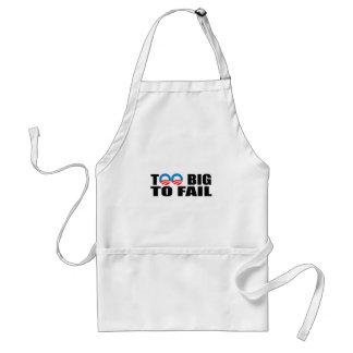 TOO BIG TO FAIL ADULT APRON