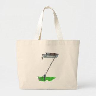 too buoyant jumbo tote bag