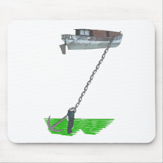 too buoyant mouse pad