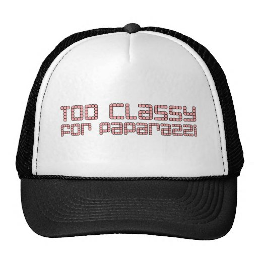 Too Classy For Paparazzi Mesh Hats