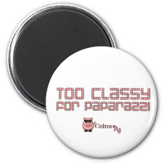 Too Classy For Paparazzi 6 Cm Round Magnet