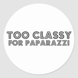 Too Classy For Paparazzi Stickers