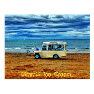 Too Cold For Ice Cream!? Postcard