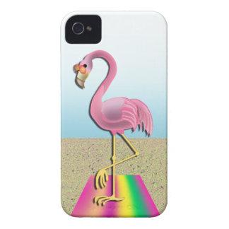 Too Cool Beach Flamingo Casemate iPhone 4 Cover