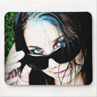 Too Cool in Shades Mouse Pads