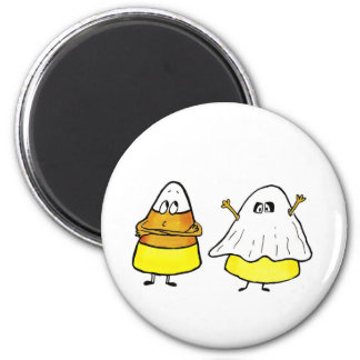 Too cool to be scared Candy Cone 6 Cm Round Magnet