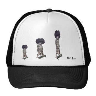 Too Cool to Skateboard Cap