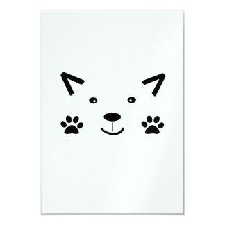 Too Cute Cat 9 Cm X 13 Cm Invitation Card