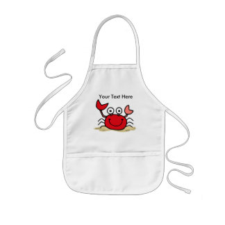 Too Cute Crab Custom Apron